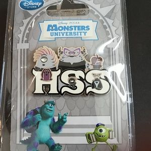 Rare Disney Monsters University Pin New with tag